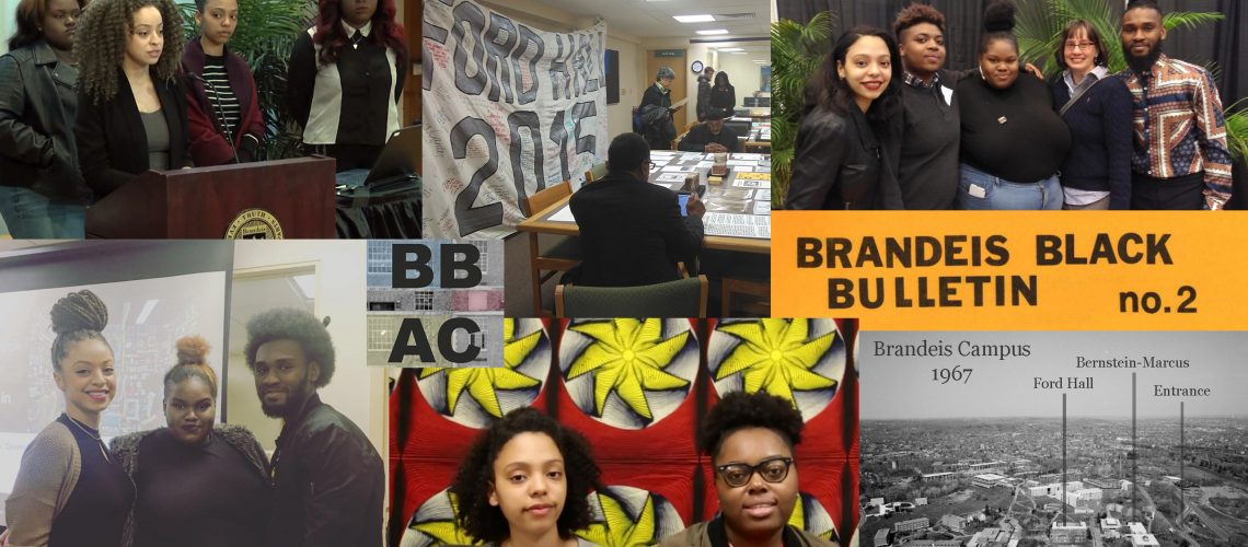 Photo collage of BBAC members and projects